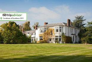 From £79 for an overnight 5* stay for two including supper, a glass of wine and breakfast, or from £169 for 2 nights at Laughern Hill Estate, Worcester - save up to 68%