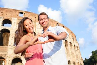 £299pp (from Tour Center) for a 2nt luxury Valentine's Rome break inc. return flights from London Heathrow, luggage and b'fast, £329pp for 3nts - save up to 60%