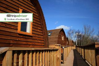 £39 (at The National Diving & Activity Centre) for a one-night glamping experience for up to five people, £65 for two nights - save up to 60%