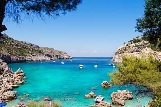 From £199pp instead of up to £253.78pp for a five-night 4* all-inclusive Rhodes break with return flights, from £249pp for seven nights - save up to 22%
