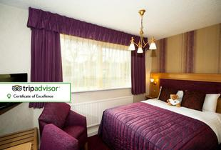 £49 (at The Best Western Fir Grove Hotel) for an overnight Cheshire stay and breakfast for two people, £79 including dinner - save up to 50%