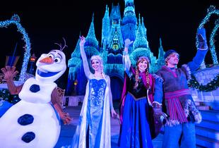 From £159pp (from Tour Center) for a two or three-night Disneyland® Paris Frozen Fun break with flights and a one-day park ticket - save up to 21%
