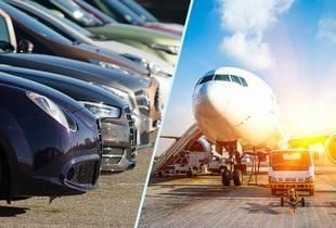 £1 for an up to 24% discount on airport parking at a choice of six UK airports with Purple Parking!