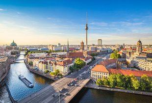From £59 (from OMGhotels.com) for a two-night Berlin stay for two at The Ivbergs Hotel, from £89 with two-course dining at Hard Rock Café - save up to 57%