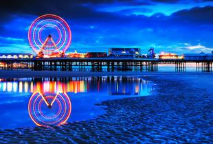 £59 for an overnight Blackpool break for two people including dinner, Prosecco and breakfast, £99 for two nights or £139 for three nights - save up to 58%