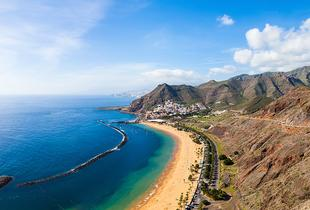 From £169pp (from Crystal Travel) for a three-night 4* Tenerife break with flights, five-nights from £239pp or seven-nights from £289pp - save up to 23%