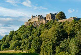 £139 (at The Stirling Highland Hotel) for an overnight break for two, breakfast, dinner and Champagne, £239 for a two-night break including afternoon tea - save up to 20%