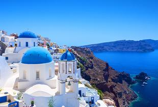 From £99 for a three-night Santorini or Lefkada apartment stay for two, from £129 for a four-night stay, from £219 for a seven-night stay - save up to 44%