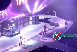 From £129pp (from Travel Center) for a ticket to see AC/DC live in concert including an overnight hotel stay - choose from six European cities!