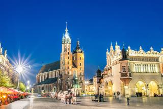 From £79pp (from Crystal Travel) for a two-night 4* Krakow break with flights, from £119pp with an Auschwitz tour, or from £119pp for three nights - save up to 22%
