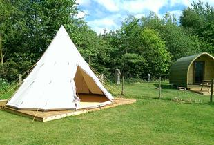 From £69 for a two-night glamping experience in the Yorkshire Wolds for two people at Yapham Holds Farmhouse - save up to 51%