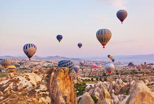 From £349pp (from Travel Center) for a five-night stay in Cappadocia including breakfast and a hot air balloon tour, from £409pp for a seven-night stay - save up to 23%