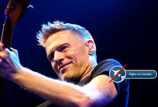 From £99pp (from Travel Center) for a ticket to see Bryan Adams in concert and a one or two night hotel stay - choose from 16 European tour dates!