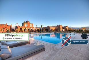 From £149 for a three-night Marrakech spa break for two people with breakfast and spa access, from £249 for five nights or from £349 for seven nights - save up to 52%