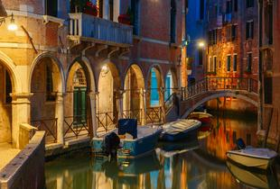 From £89pp (from Crystal Travel) for a two-night 4* Venice break including flights and sightseeing boat tour, £129pp for three nights - save up to 23%
