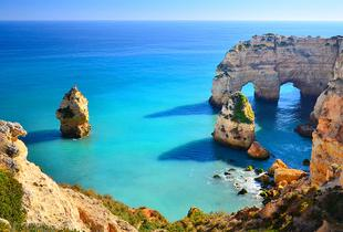 From £99pp (from Cheap Cost Holidays) for a three-night Algarve break for two with flights, from £169pp for five nights, or from £199pp for seven nights - save up to 24%