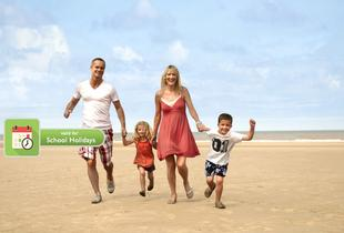From £99 (at Pontins) for a four-night summer family break for up to four people - save up to 29%