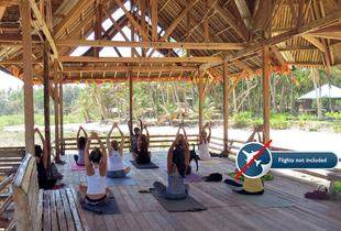 £499pp (from Zimba Yoga) for a six-night Siargao Island yoga immersion retreat  in the Phillipines, including accommodation, transfers and breakfast - save 41%