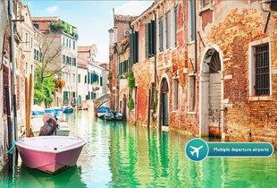 From £79pp instead of up to £243.05pp (from ClearSky Holidays) for a two-night 4* Venice break with flights - choose from eight airports and save up to 67%
