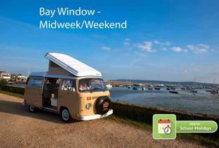 £239 for a 4nt midweek or 3nt weekend VW campervan hire for up to 4 people or £279 for a 4nt midweek or 3nt weekend hire for up to 2 people - save up to 55%