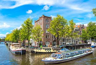 From £79pp (from Crystal Travel) for a two-night 4* Amsterdam break including flights - choose from 10 departure airports and save up to 23%