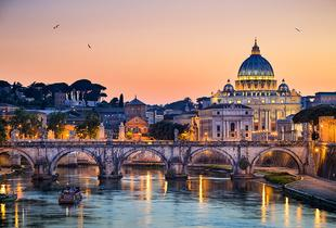 From £99pp for a 3* two-night Rome stay with Six Nations 2017 ticket, from £149pp for three nights  OR from £149pp for a 4* hotel or from £299pp for a 4* luxury hotel