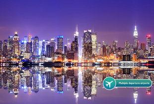From £479pp (from ClearSky Holidays) for a three-night New York break including flights, or pay a £150 deposit today - fly from a choice of 10 airports and save up to 35%