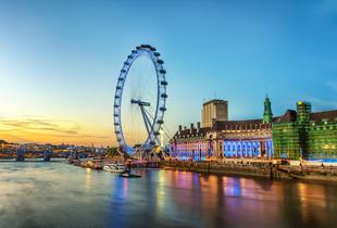 From £69pp (with OMGhotels.com) for a London stay with breakfast and 24hr 'hop on, hop off' bus tour ticket!