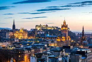 From £59pp (from Clear Sky Holidays) for an overnight stay in Edinburgh including flights, from £89pp for two nights, from £119 for three nights - save up to 28%