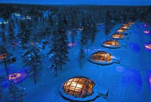 From £559pp for a two-night Lapland Snow Hotel and Glass Igloo stay with breakfast and flights, from  £799pp for three nights or pay a £350 deposit today - save up to 20%