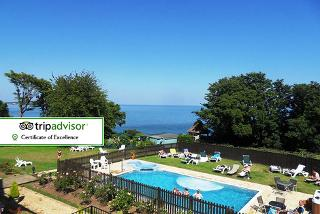 From £179 (from Luccombe Manor) for a two-night Isle of Wight break for two people with a three-course dinner, leisure access, breakfast and return ferry - save up to 53%
