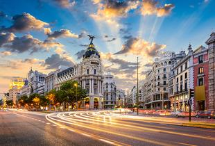 From £99pp (from Worldwide Tours & Travel) for a two-night 4* Madrid break including flights, from £129pp for a three-night break - save up to 32%