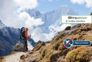 £599pp instead of up to £1543pp (from Himalayan Social Journey) for a 16-day Everest Base Camp trek including accommodation, tour, transfers and more - save up to 65%