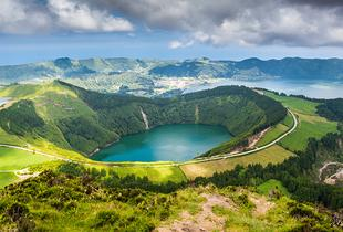 From £299pp instead of £444.91pp (from ClearSky Holidays) for a four-night Azores break including breakfast and flights, from £379pp for seven nights  - save up to 33%