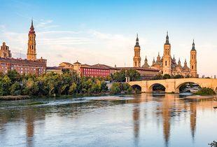 From £69pp (from Tour Center) for a two-night 4* Zaragoza getaway with flights, from £119 for three nights - save up to 23%