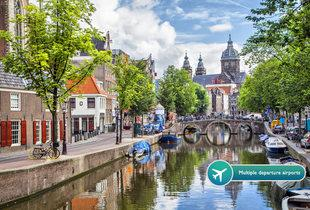 From £89pp instead of £116.30pp (from Weekender Breaks) for a two-night 4* Amsterdam break, chocolate with strawberries and flights - save up to 23%