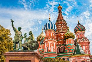 From £269pp (from Tour Center) for a four-night Moscow and St Petersburg break including flights and trains or from £349pp for six nights - save up to 28%