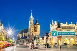 From £79pp (with Weekender Breaks) for a 4* two-night Krakow break with flights, Auschwitz tour and wine - choose from eight departure airports and save up to 61%