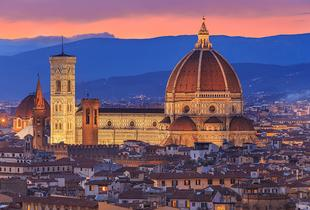 From £99pp for a two-night 4* Florence spa stay with flights and a bottle of wine on arrival, from £139pp including a hop-on hop-off tour - save up to 29%