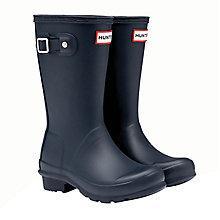 Buy Hunter Kids' Original Wellington Boots Online at johnlewis.com