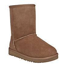 Buy UGG Kids Classic Sheepskin Short Boots Online at johnlewis.com