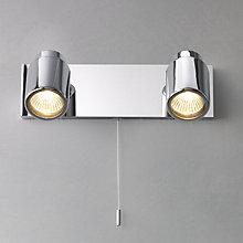 Buy Como 2 Bathroom Spotlight Wall Plate Online at johnlewis.com
