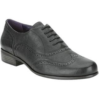 Buy Clarks Hamble Oak Leather Wingtip Brogues, Black Online at johnlewis.com