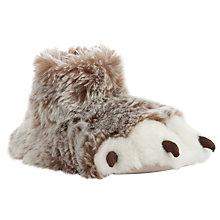 Buy John Lewis Claw Slippers, Brown Online at johnlewis.com