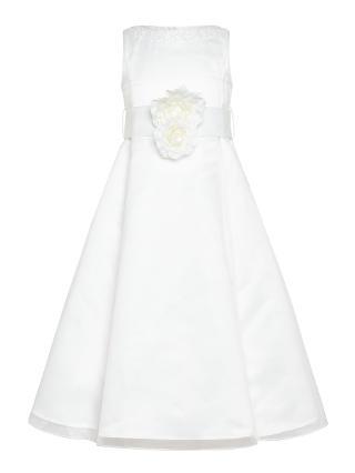 Buy John Lewis Girl Organza Bridesmaid Dress, Ivory Online at johnlewis.com
