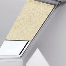 Buy VELUX Patterned Blackout Roller Blinds, Beige/Marble Online at johnlewis.com