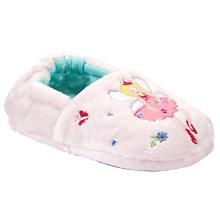 Buy John Lewis Girl Fairy Slippers, Pink Online at johnlewis.com