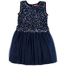 Buy Derhy Kids Antoinette Dress, Navy Online at johnlewis.com