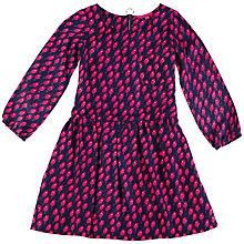 Buy Derhy Kids Aude Twill Dress, Blue/Pink Online at johnlewis.com