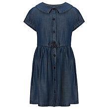 Buy John Lewis Girl Shirt Dress, Denim Online at johnlewis.com
